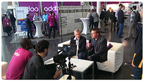 video interview Rack-oon on Open Days of Odoo